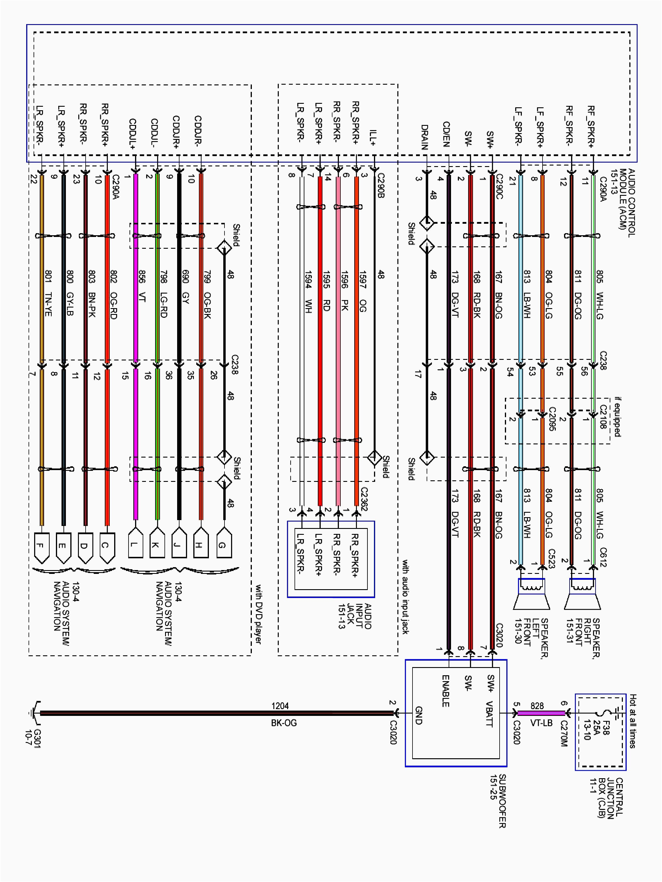 Ford Speaker Wiring Color Codes | Wiring Diagram on