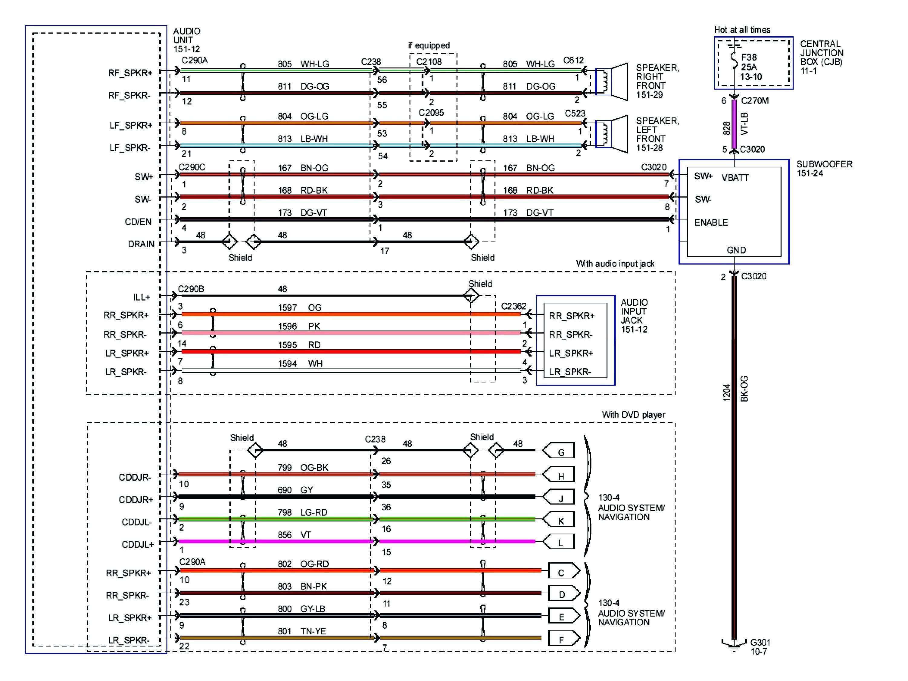 Image Lincoln Mark Lt 2006 Radio Wiring Harness Diagram ... on