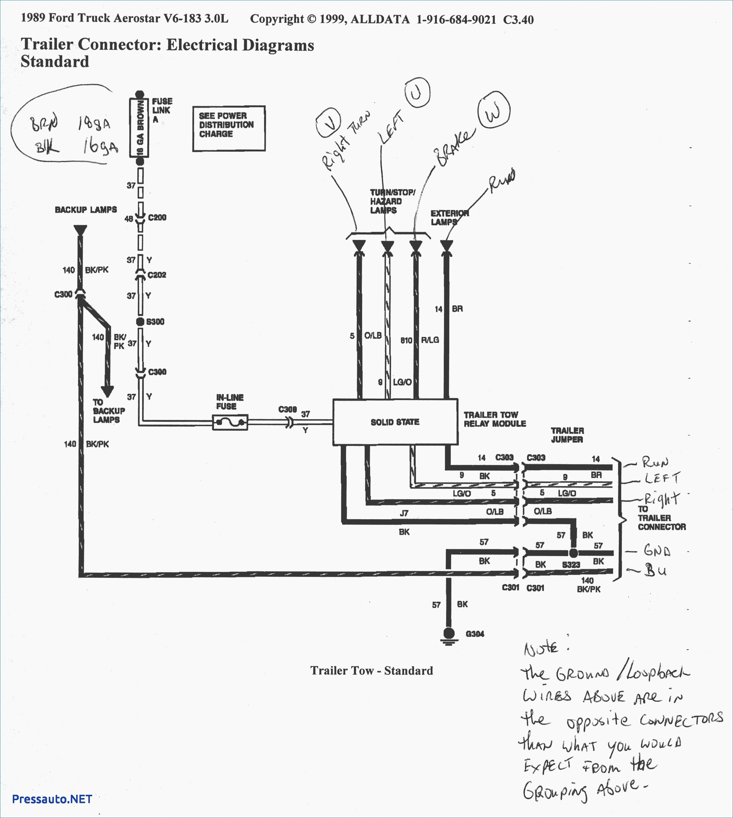 2005 ford f150 trailer wiring diagram Download-2002 Ford F150 Trailer Wiring Harness Diagrams 1990 Diagram 6-j