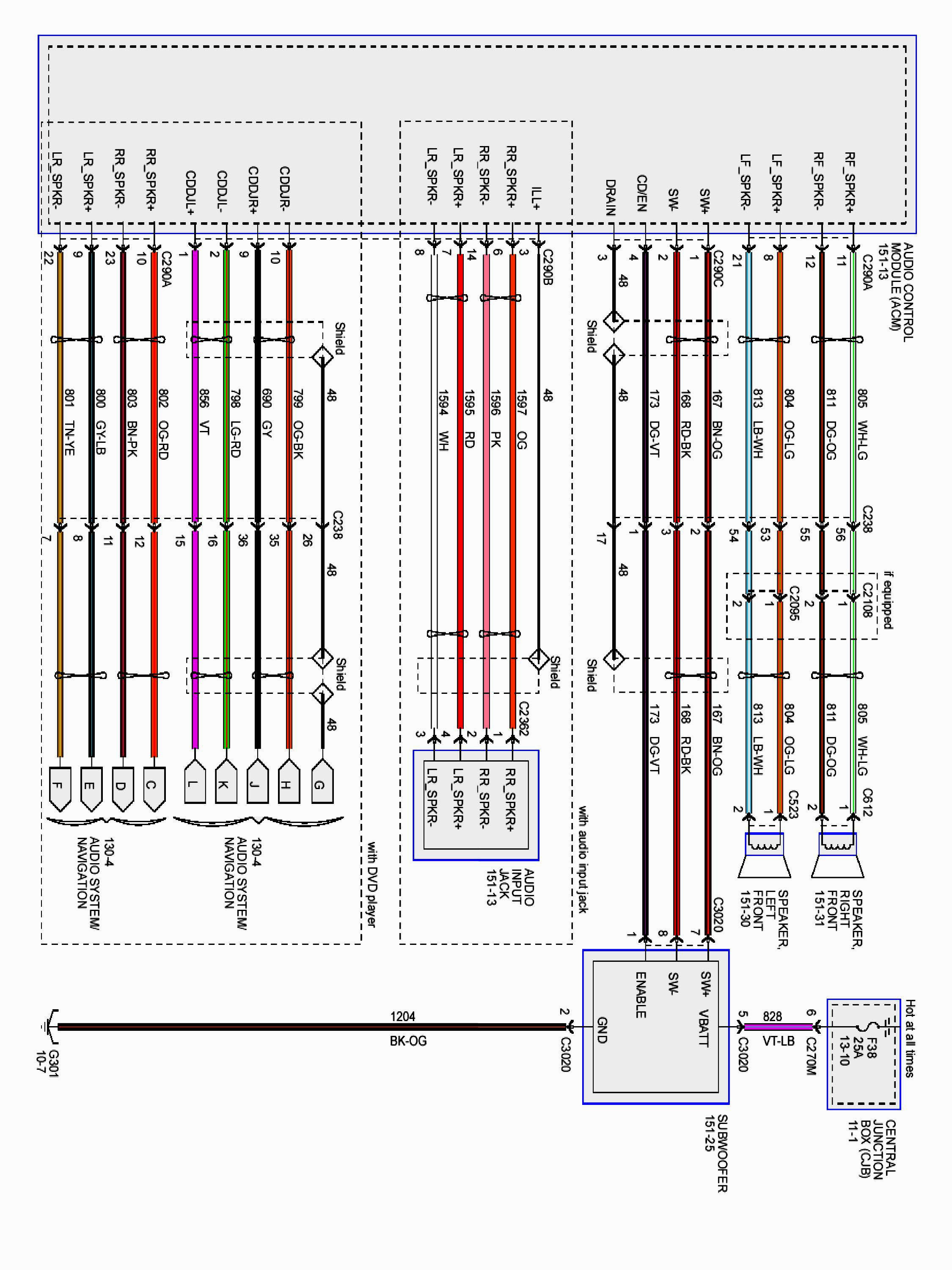 2005 ford f150 trailer wiring diagram Collection-Ford F150 Trailer Wiring Harness Diagram With Wire Saleexpert Me For 18-o