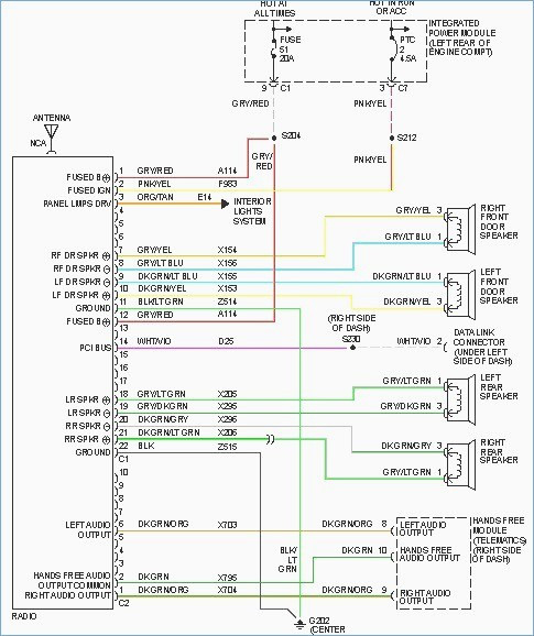 2006 dodge ram radio wiring diagram Download-2006 Dodge Ram 2500 Radio Wiring Diagram Wildness Me 6-r