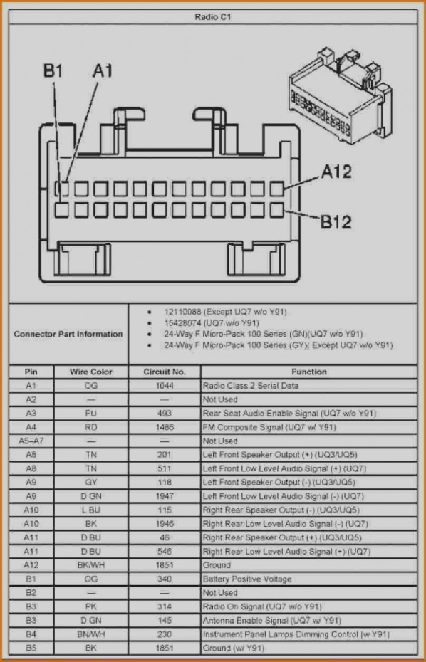 2006 pontiac grand prix radio wiring diagram collection-2000 pontiac  montana radio wiring diagram gm
