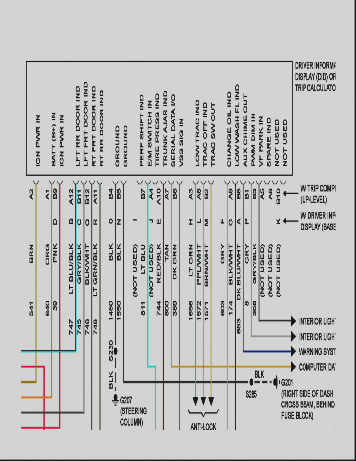 1999 Pontiac Grand Prix Stereo Wiring Diagram - Electrical Systems ...