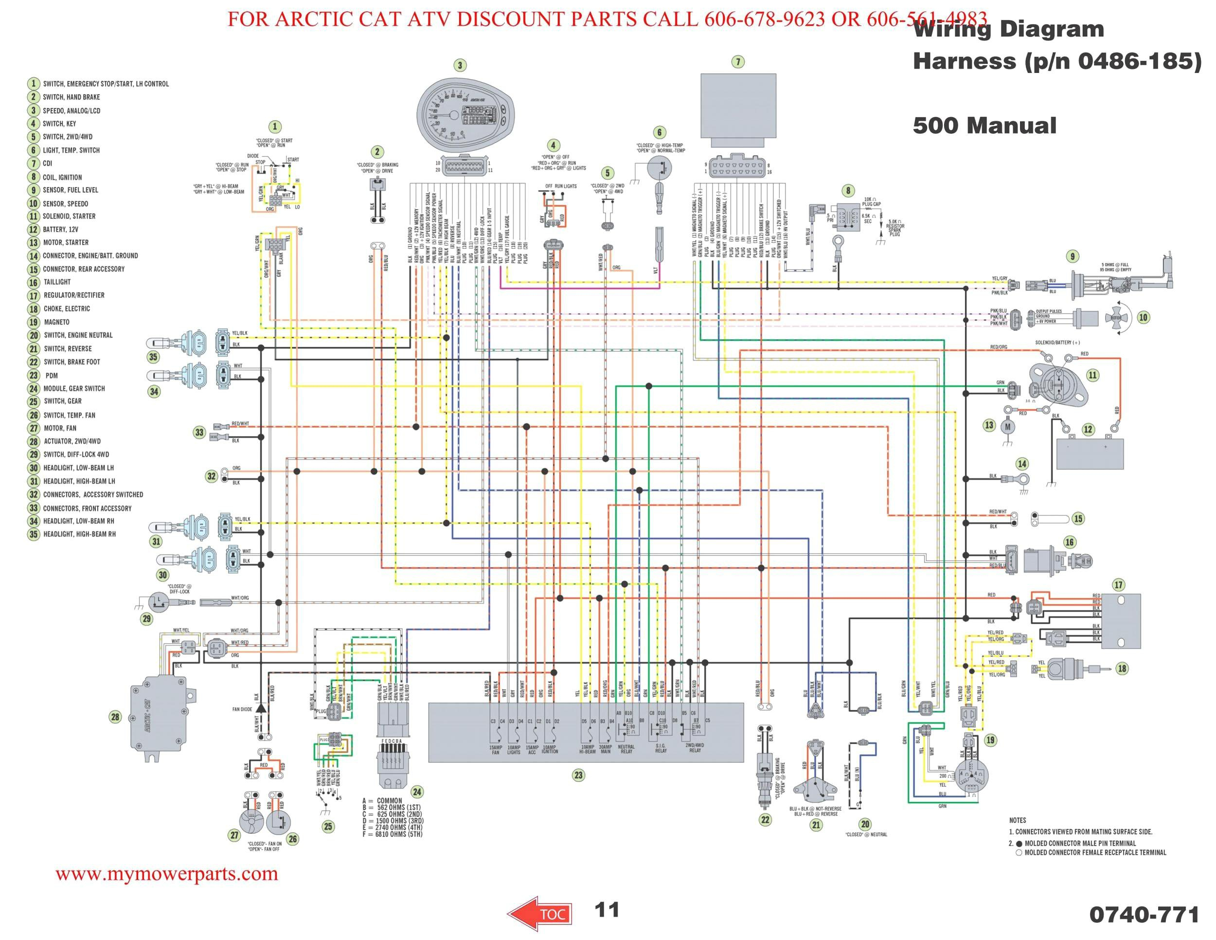 wrg 9424] 09 rzr 800 wiring diagram