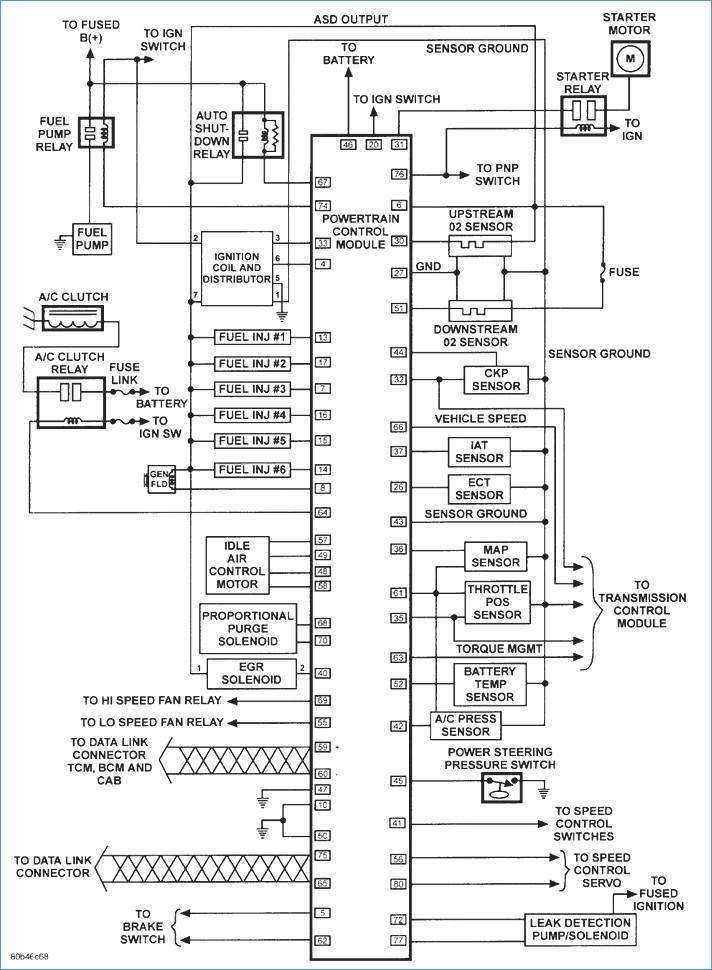 2001 Chrysler Sebring Radio Wiring Diagram Schematic - Custom Wiring ...