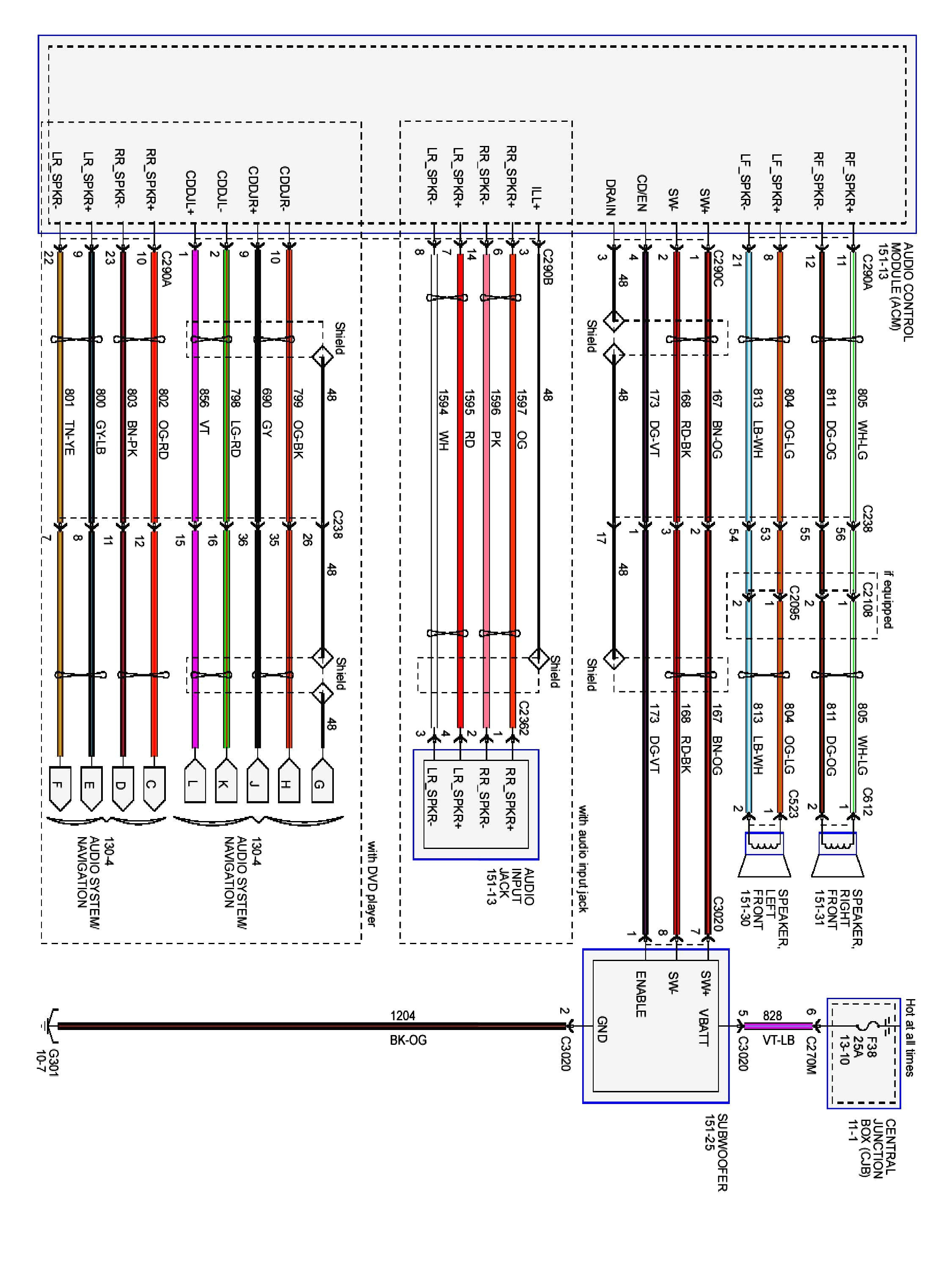 2003 Ford Focus Radio Wiring Diagram Download Wiring Diagram Sample 2013 F-150  7 Pin Trailer Wiring Diagram 2002 F150 Wiring Harness