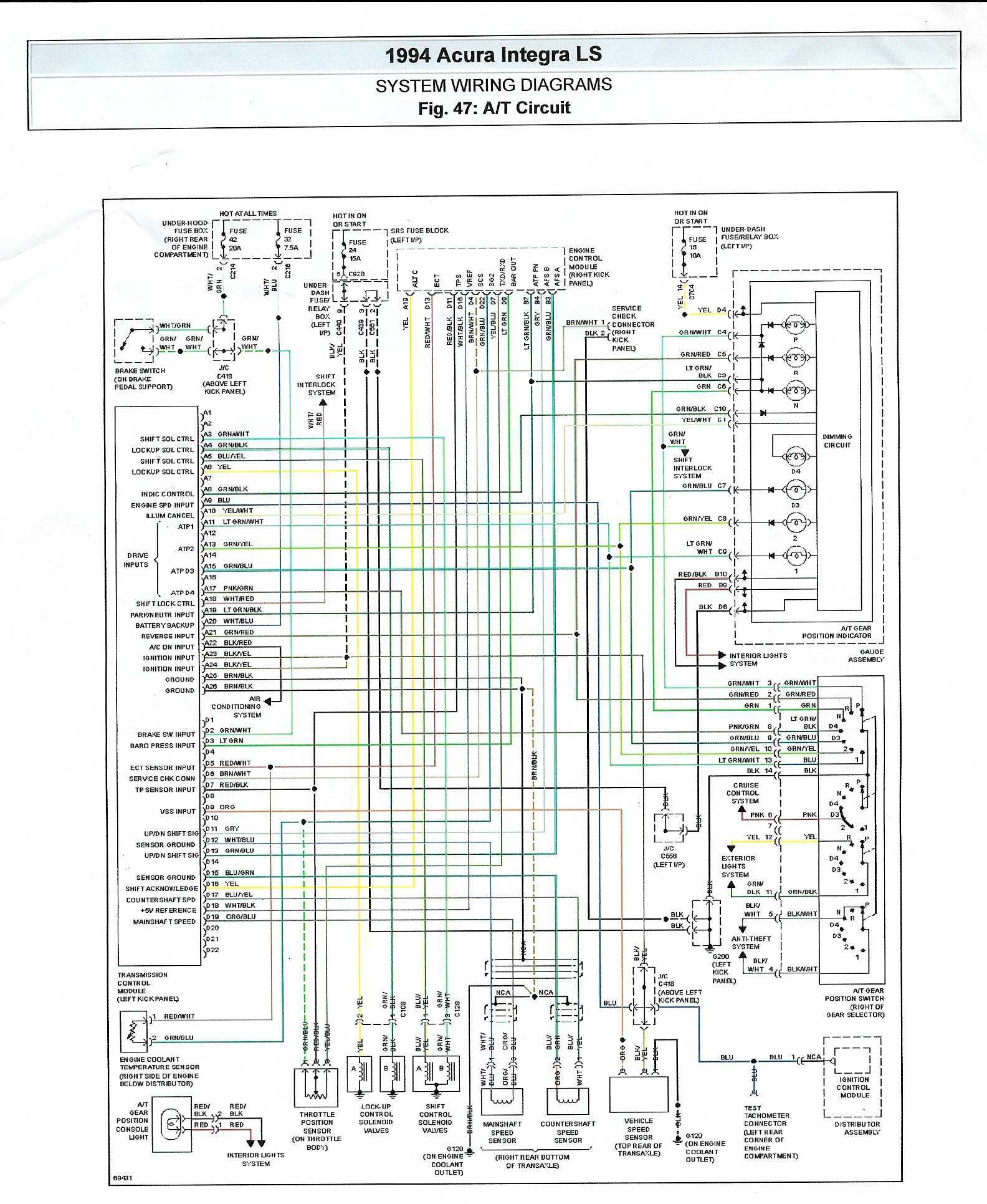 2014 honda accord wiring diagram Collection-1991 honda accord stereo wiring diagram 11-a