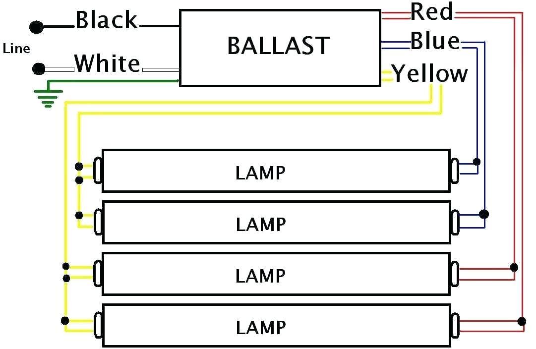 3 lamp t8 ballast wiring diagram Download-2 lamp t8 ballast ballast wiring diagram within 2 lamp sylvania 2 lamp t8 ballast 4-p
