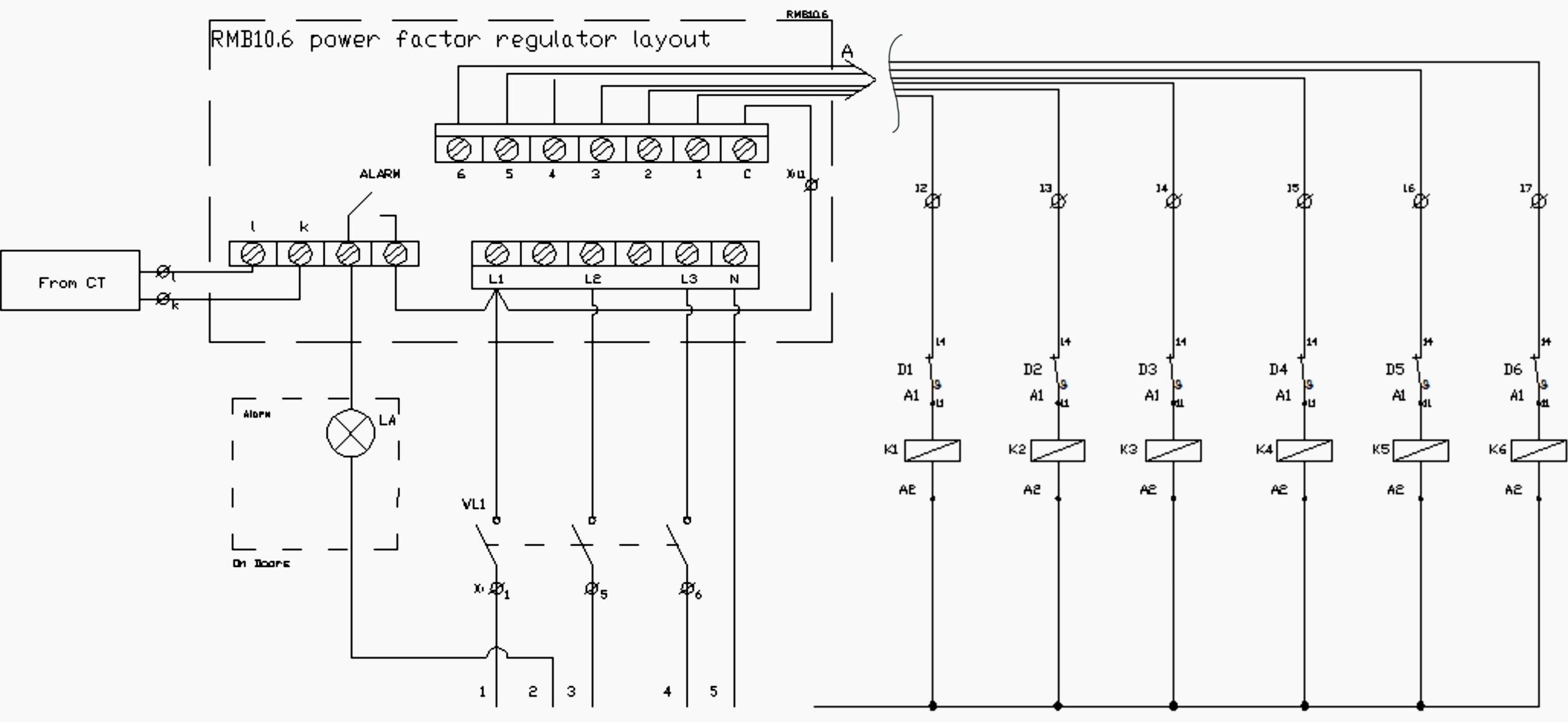 3 Phase Capacitor Bank Wiring Diagram Collection Sample Building Download Of Control Circuit 4