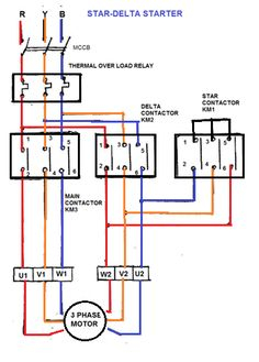 3 phase motor contactor wiring diagram Download-STAR DELTA Starter Will always work over with your above rated motors 18-b