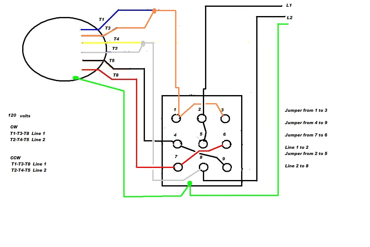12 lead wye delta connection diagram wiring diagram center