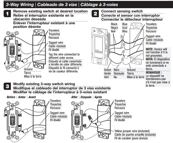 3 way motion sensor switch wiring diagram Download-Occupancy Sensing Switch installation guide 3 way wiring diagram 14-d