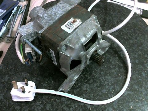 3 wire washing machine motor wiring diagram Download-How to wire up a Washing Machine Motor 2-g