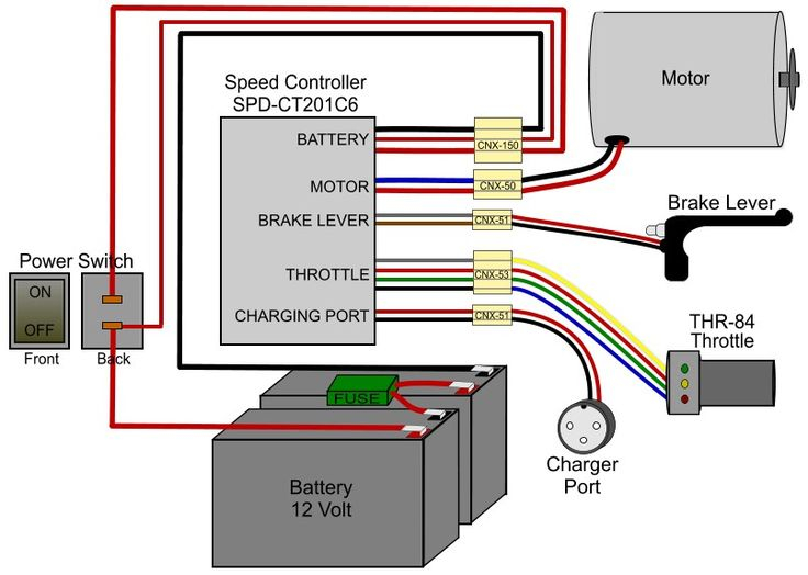 36 volt electric scooter wiring diagram Collection-Electric Scooter Battery Wiring Diagram Fresh 47 Elegant 48 Volt Electric Scooter Wiring Diagram 23 20-m