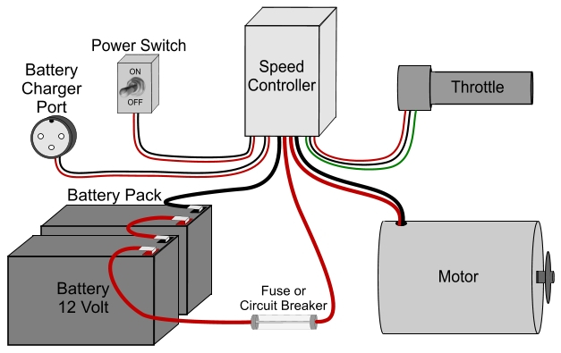 36 volt electric scooter wiring diagram Download-The speed controllers wiring directions will precisely indicate which wires to connect to which parts and ponents Wiring an electric scooter bike 13-j