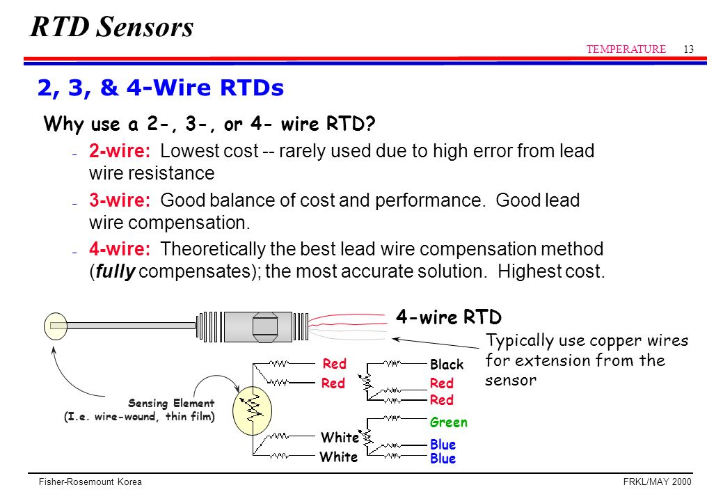 4 wire rtd wiring diagram Collection-3 Wire Rtd Wiring Diagram Awesome Rtd Sensor Temperature Ppt Video line 6-e