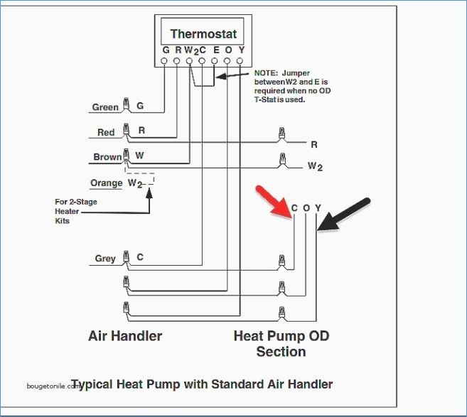 4 wire thermostat wiring diagram Download-Cooler Wiring Diagram Fresh Heating and Cooling thermostat Wiring 14-j