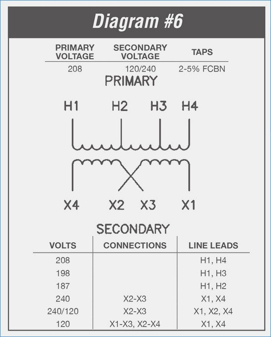480v 3 phase to 240v single phase transformer wiring diagram 240V Transformer Diagram