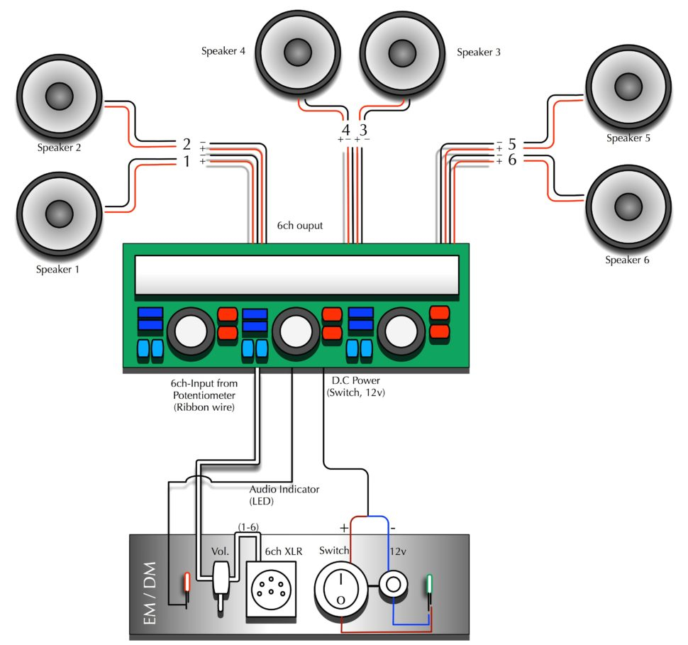 6 Speakers 4 Channel Amp Wiring Diagram Gallery Sample Four Sound Car Download Wire Luxury