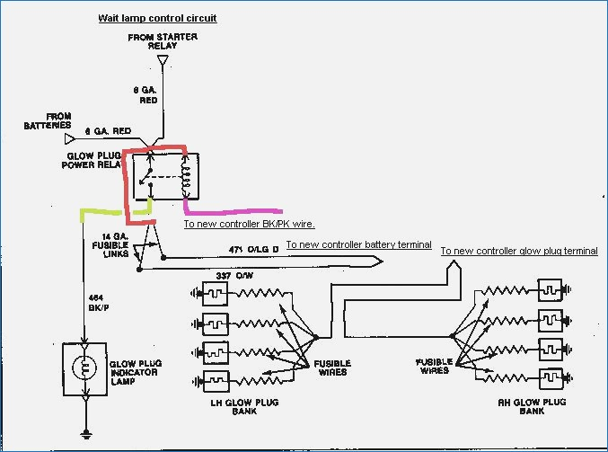 73l glow plug wiring diagram schematics wiring diagrams u2022 rh marapolsa co