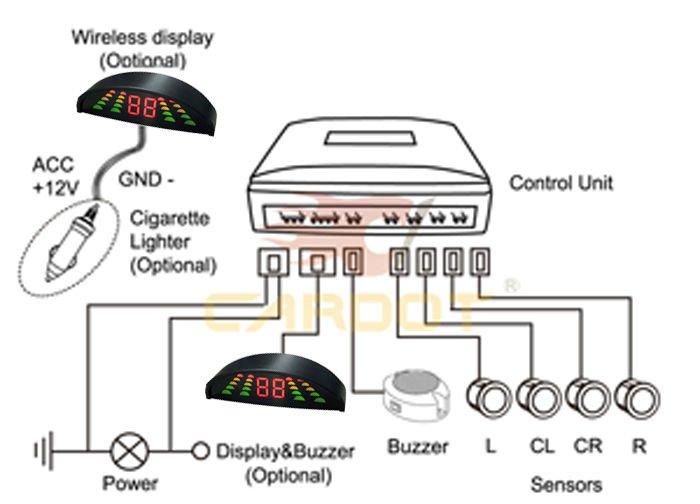 8 parking sensor wiring diagram Download-Wire Diagram 8 8-h