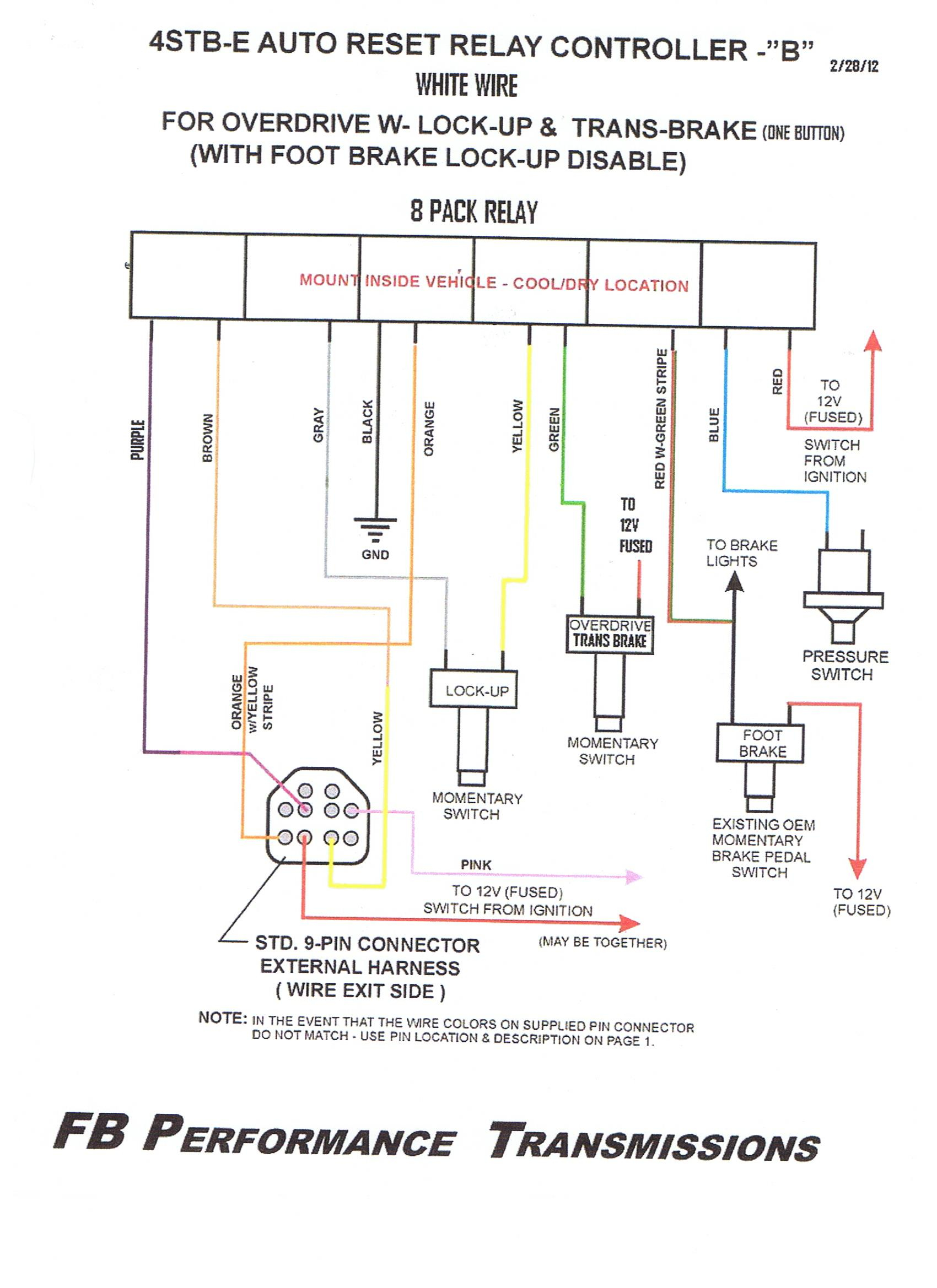 8 parking sensor wiring diagram Download-WIRING and Operation 9 pin Feb 2012 11-i