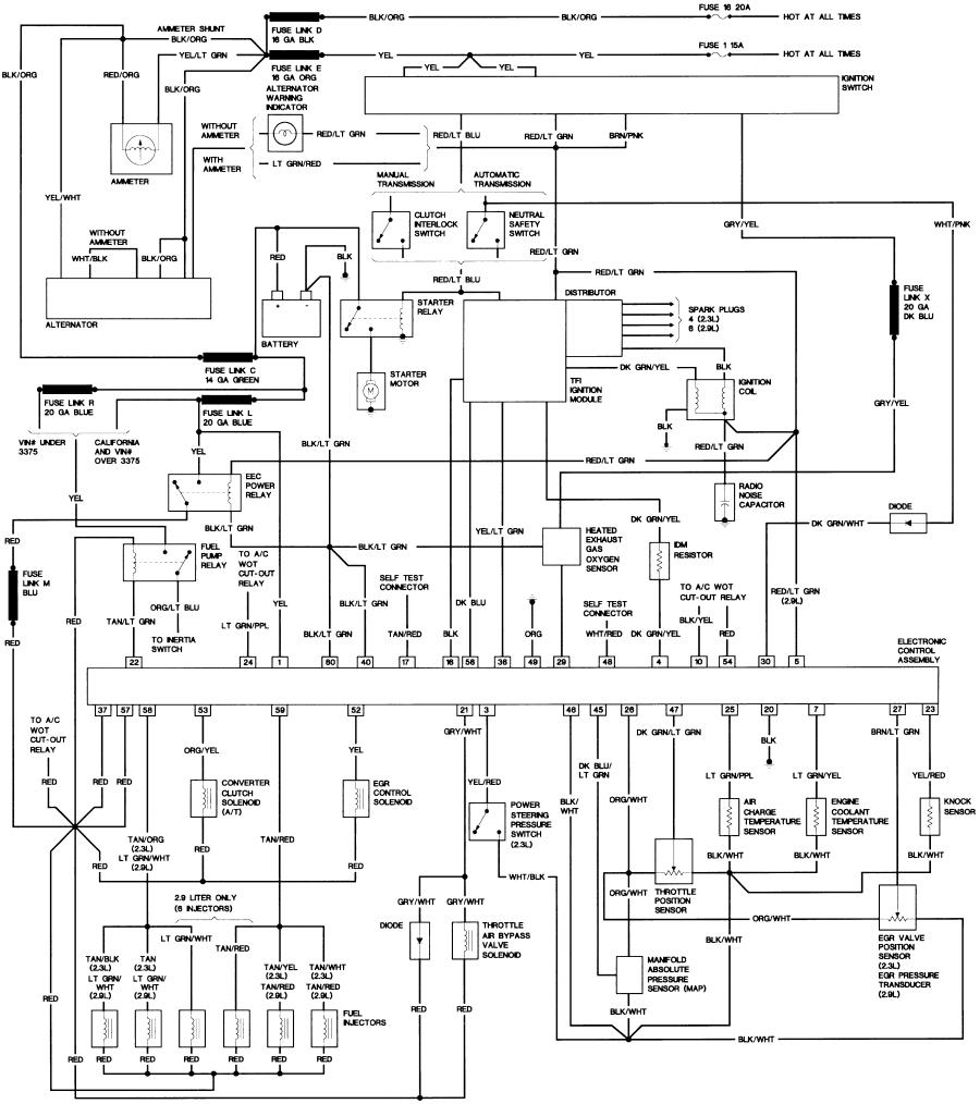 86 ford crown victoria wiring diagram free download u2022 oasis dl co rh oasis dl co Wiring Diagram for 1986 Ford Crown Victoria Ford Taurus Radio Wiring Diagram