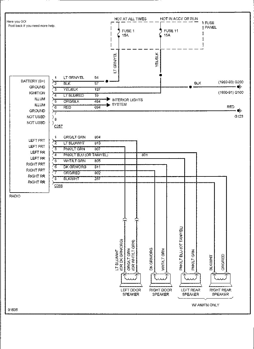 94 ford explorer radio wiring diagram Download-94 Ford Ranger Radio Wiring  Diagram Hd Dump