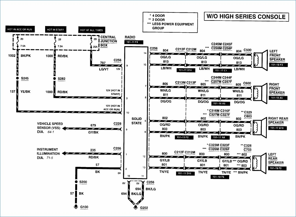 1994 ford explorer sport wiring diagram all wiring diagram 1994 Ford Explorer Stereo Wiring Diagram