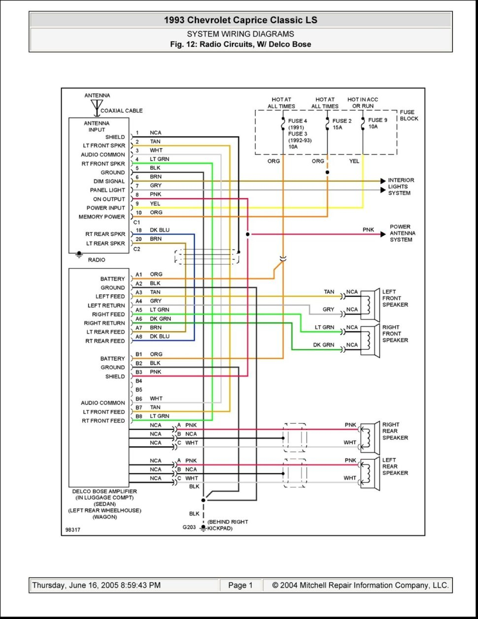 lincoln town car radio wiring read all wiring diagram 1994 Lincoln Town Car Wiring Diagram