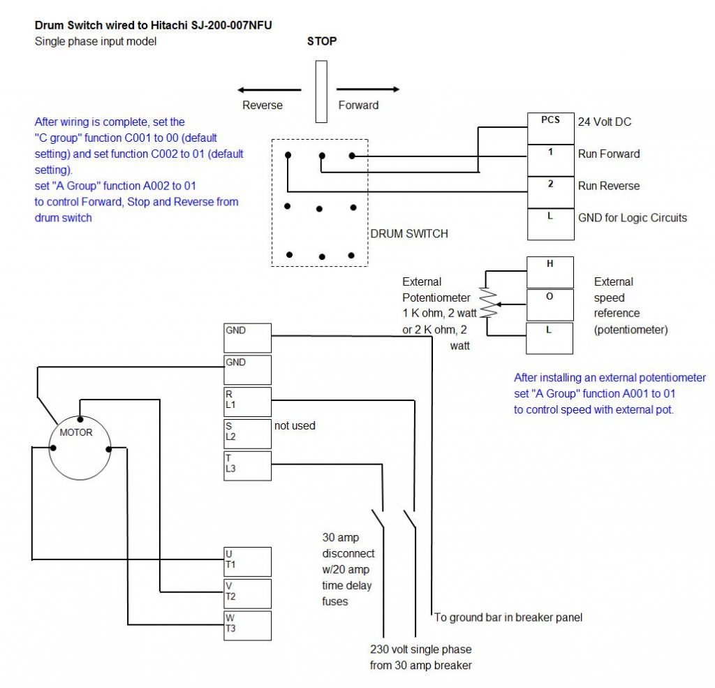 Variable Frequency Drive Wiring Diagram On Vfd Control Wiring