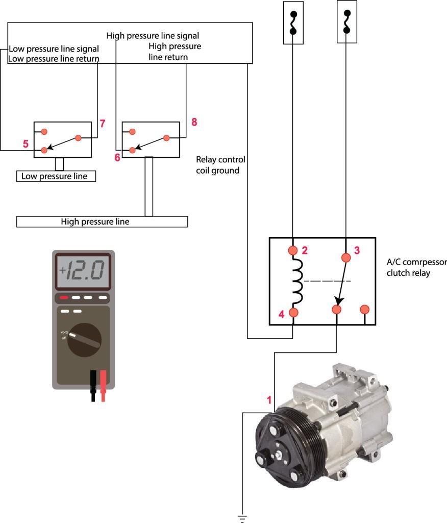ac compressor wiring diagram Collection-Ac pressor Won t Run Ricks Free Auto Repair Advice Ricks Free Run Capacitor Wiring Diagram 7-n