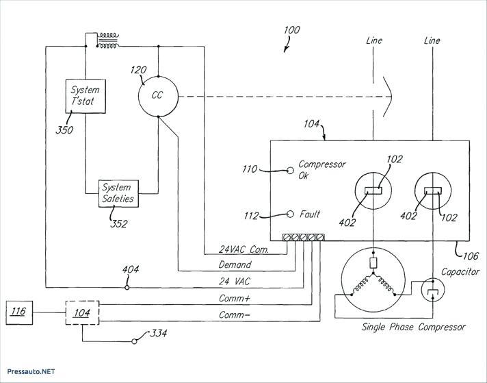 ac compressor wiring diagram Download-Full Size of Split Capacitor Motor Wiring Diagram Refrigerator Run Diagrams Air Conditioner A C pressor Cap 5-r