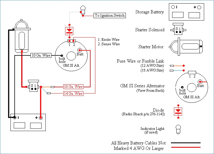Gm Delco Remy Alternator Wiring | Wiring Diagram 2019 on alternator connections diagram, 1 wire alternator generator, starter solenoid wiring diagram, 1 wire alternator plug, 4 wire trailer wiring diagram, 6 wire trailer wiring diagram, 3 wire rtd wiring diagram, 3 wire alternator diagram, 1 wire alternator dimensions, 4 wire thermostat wiring diagram, 1 wire alternator installation, gm internal regulator wiring diagram, 7 wire trailer wiring diagram, 7 wire plug wiring diagram, 1 wire alternator ford,
