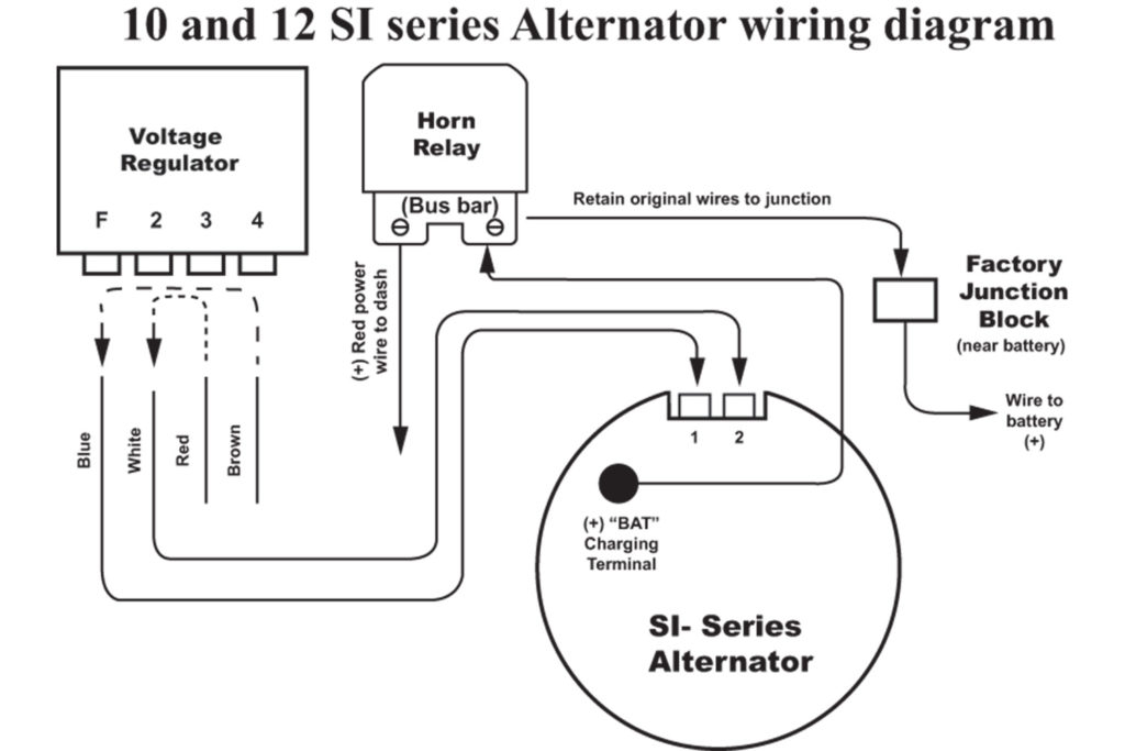 Ac Delco 4 Wire Alternator Wiring Diagram Gallery | Wiring ... on