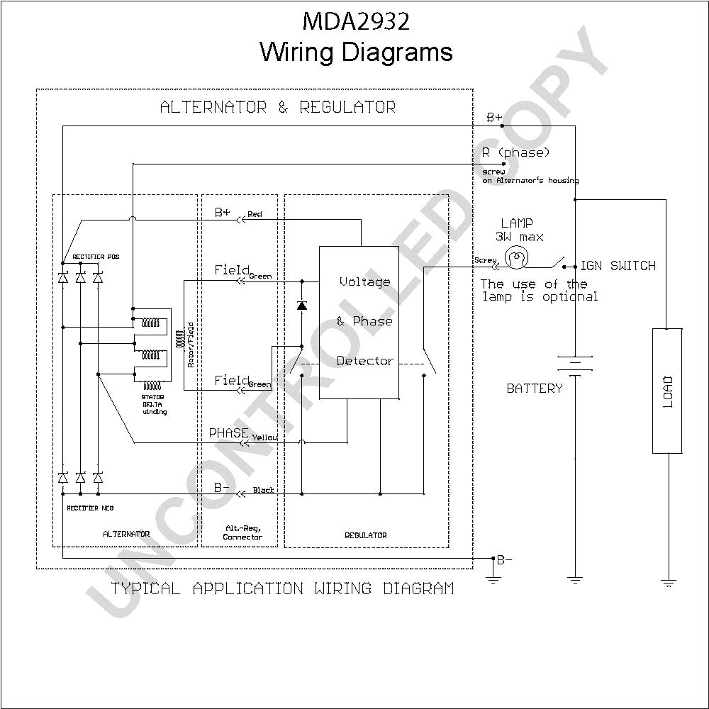 Delco Alternator Wiring Diagram And Schematics. 24si Alternator Wiring Diagram Fuse Box Source Ac Delco. Wiring. Delco 24si Alternator Wiring Diagram At Scoala.co