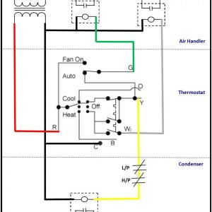 Ac thermostat Wiring Diagram Collection | Wiring Diagram Sample on