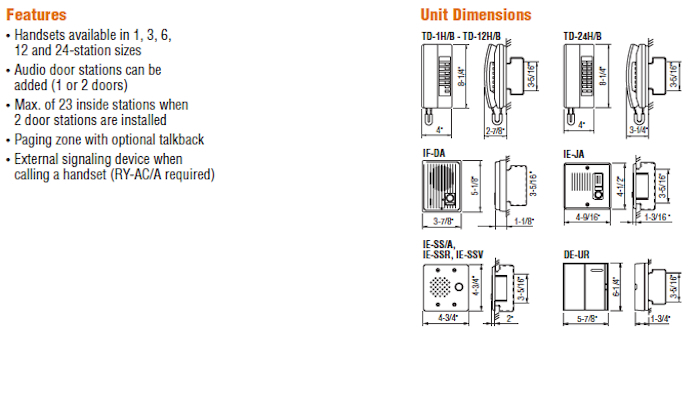 AiPhone Td 6h Wiring Diagram - Perfect AiPhone Inter Wiring Diagram Adornment Schematic 12f