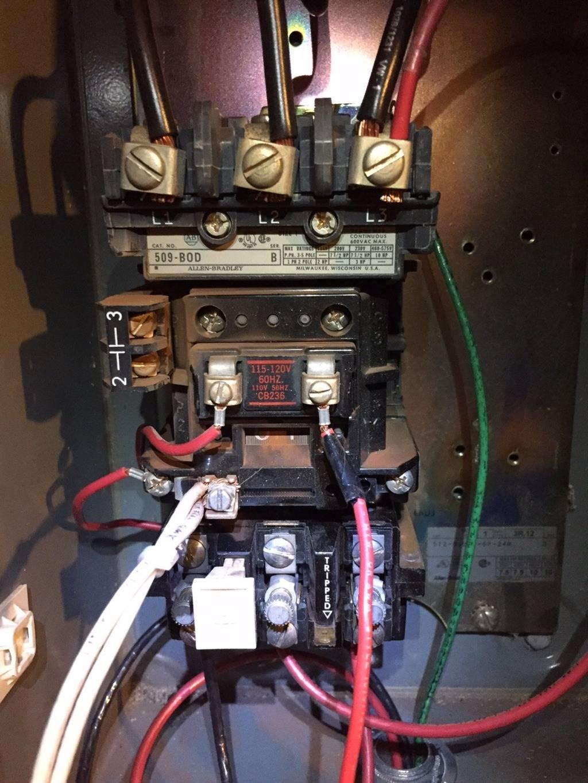allen bradley 509 bod wiring diagram Collection-Here s the starter Allen Bradley 509 series 1-d