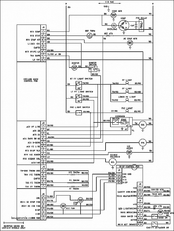 Amana Wiring Diagram
