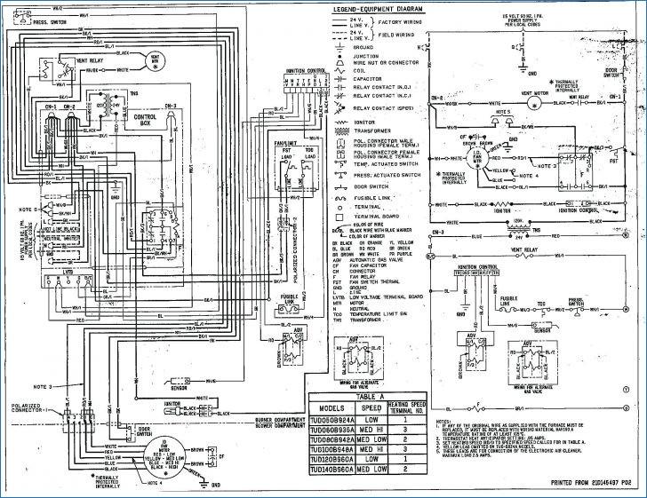 american standard furnace wiring diagram gallery
