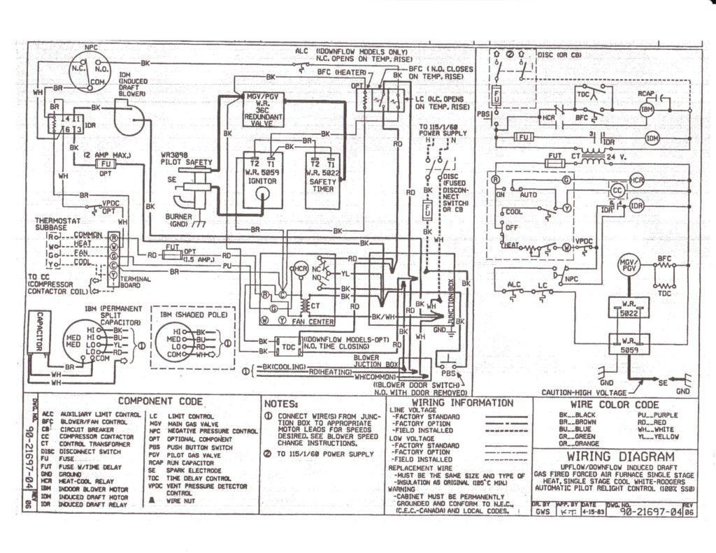 american standard furnace wiring diagram Download-Gas Furnace Wiring Diagram Inspirational American Standard Wiring Diagrams Diagram Throughout Furnace Roc 4-h