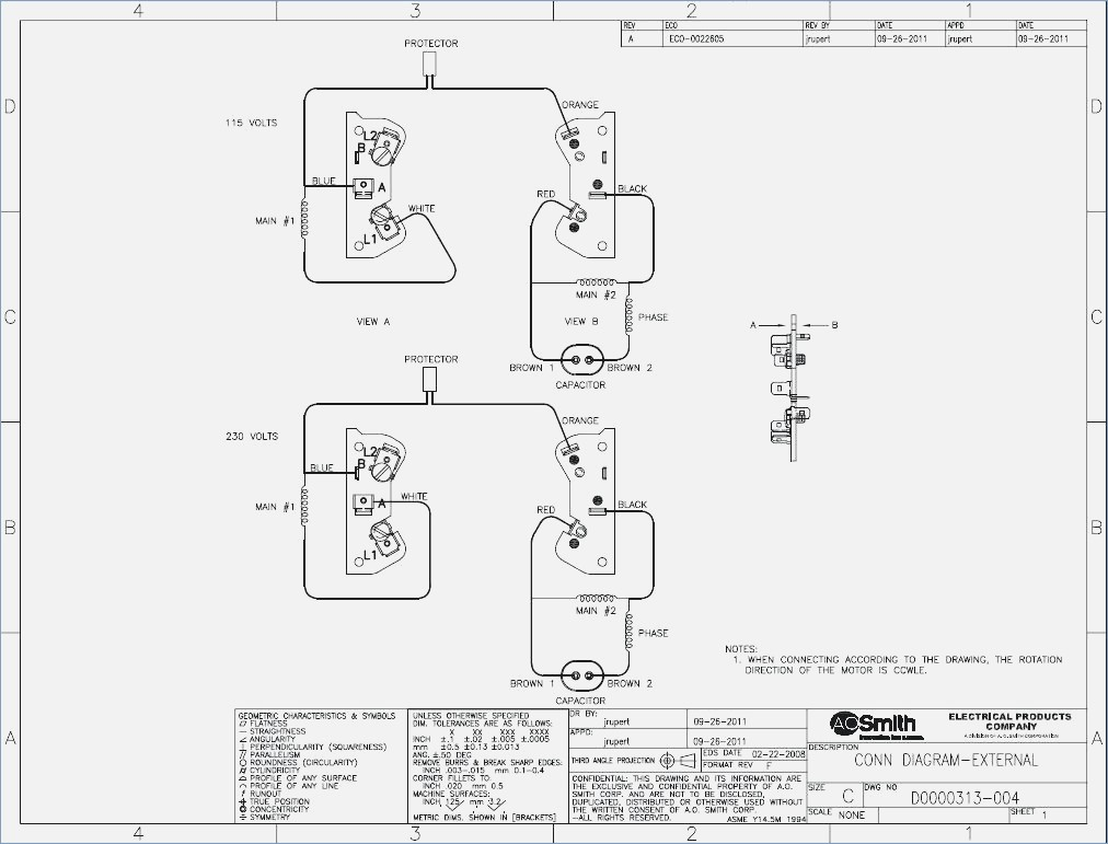 ao smith boat lift motor wiring diagram Download-Ao Smith Motor Wiring Diagram Ao Smith Motors Wiring Diagram u2013 wildnessrh 16-i