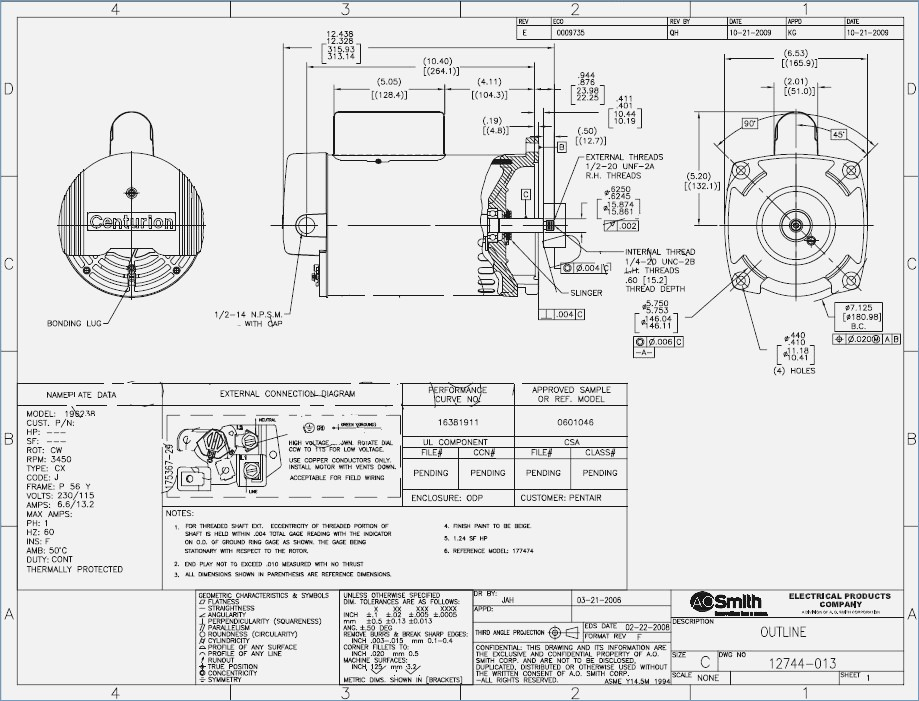 ao smith boat lift motor wiring diagram Collection-Ao Smith Motor Wiring Diagram Ao Smith Pool Pump Motor Wiring Diagram u2013 funnycleanjokes 12-d