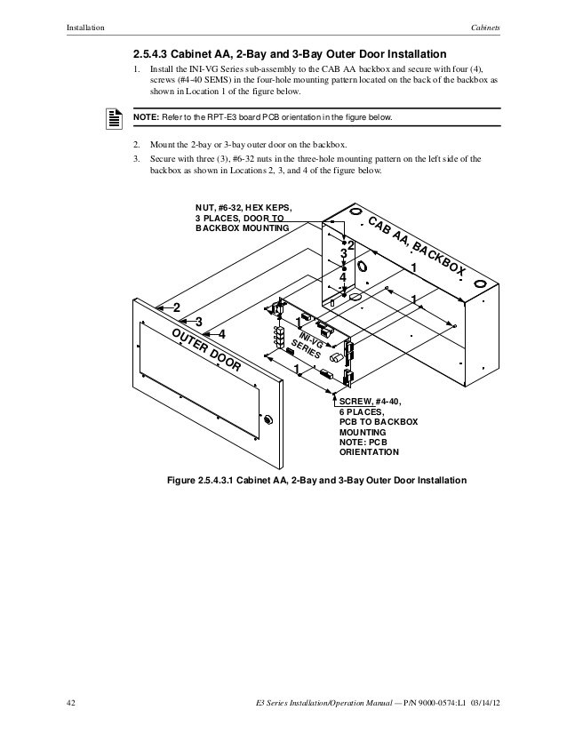 aom 2sf wiring diagram Collection-42 42 E3 Series Installation Operation Manual 4-i