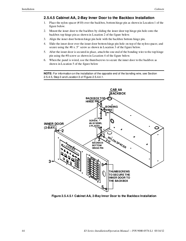 aom 2sf wiring diagram Collection-44 44 E3 Series Installation Operation Manual 8-k