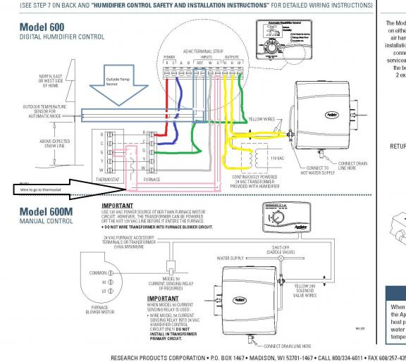 aprilaire model 600 wiring diagram Collection-Aprilaire 760 Wiring Diagram Wiring Diagram Lambdarepos Aprilaire 600a 17-k