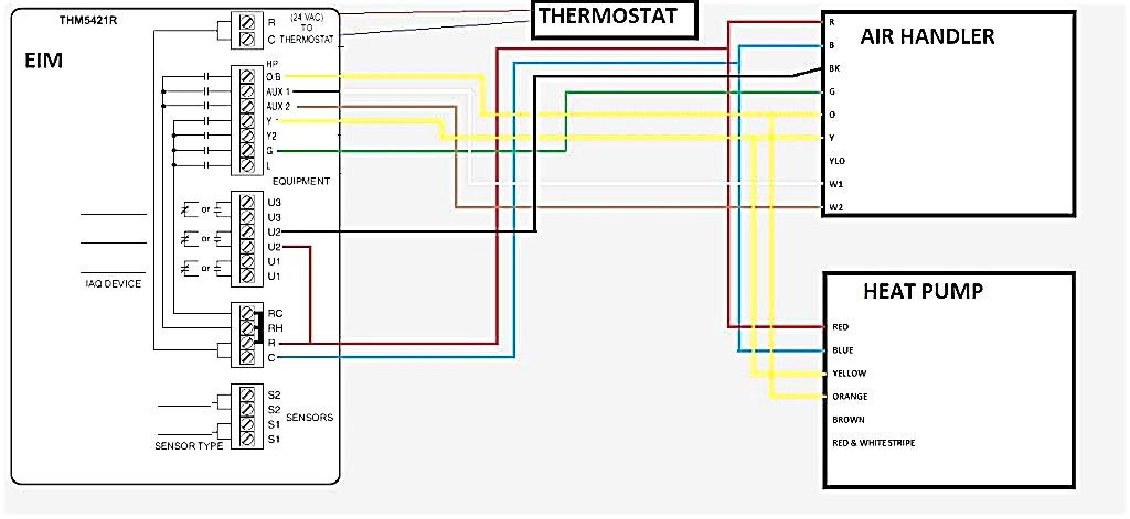 armstrong air handler wiring diagram Collection-Heat Pump Wiring Diagram Adorable Design Goodman Thermostat With Regard Air Handler 3-b