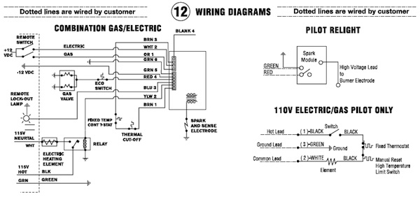 atwood water heater switch wiring diagram Download-Water Heater 13-t