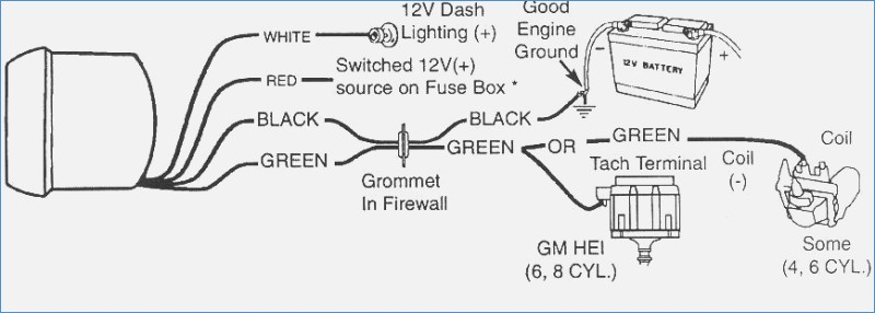 auto meter wiring diagram Collection-Auto Meter Wiring Diagram Awesome Pro Tach Wiring Diagram \u2013